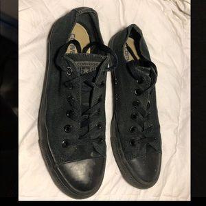 Black Low-top Converse